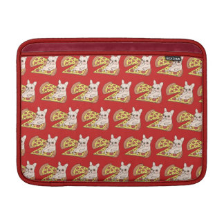 Capa Para MacBook Air Frenchie de creme convida-o a seu partido da pizza