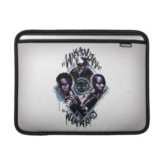 Capa Para MacBook Air Grafites dos guerreiros da pantera preta |