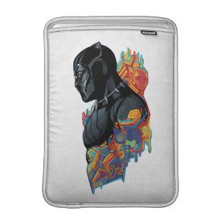 Capa Para MacBook Air Grafites tribais da pantera preta de pantera preta