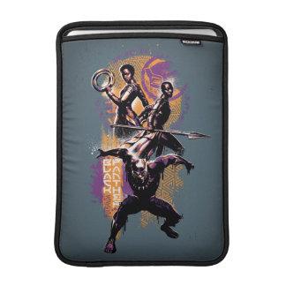Capa Para MacBook Air Guerreiros da pantera preta | Wakandan pintados