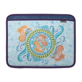 Capa Para MacBook Air Harmonia dos mares, boho, hippie, boémio