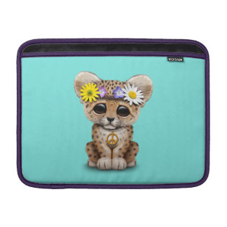 Capa Para MacBook Air Leopardo bonito Cub do Hippie