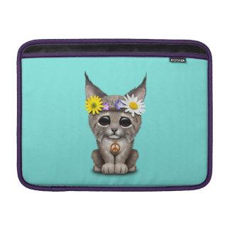 Capa Para MacBook Air Lince bonito Cub do Hippie