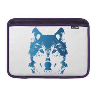 Capa Para MacBook Air Lobo do azul de gelo da ilustração