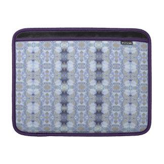 Capa Para MacBook Air Luva de ar azul profunda de Macbook do rickshaw do