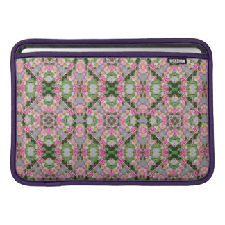Luva de ar cor-de-rosa Amarelo-Listrada de Macbook