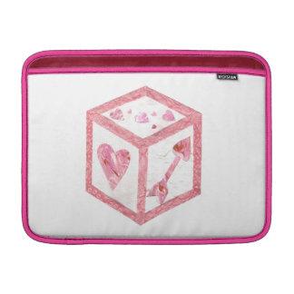 Capa Para MacBook Air Luva de ar de Macbook dos dados do amor