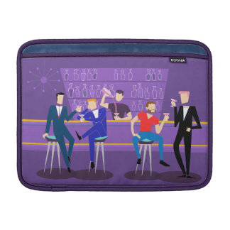Capa Para MacBook Air Luva de ar retro de MacBook do bar alegre