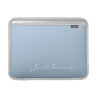 Capa Para MacBook Air Mantenha a calma e dance na luz - azul