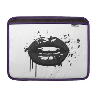 Capa Para MacBook Air Maquilhador à moda do beijo da forma dos lábios