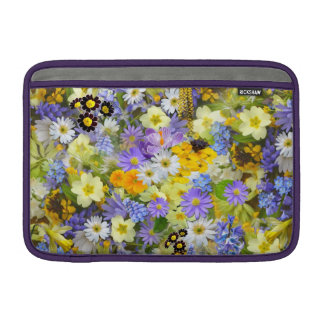 Capa Para MacBook Air O prado bonito do primavera floresce a luva de ar