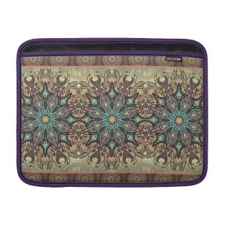 Capa Para MacBook Air Teste padrão floral étnico abstrato colorido da
