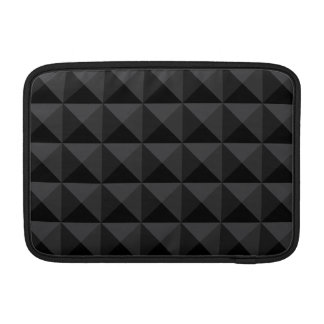 Capa Para MacBook Air Teste padrão geométrico moderno do quadrado preto