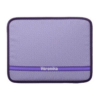 Capa Para MacBook Air Teste padrão pequeno violeta da xadrez. Adicione o
