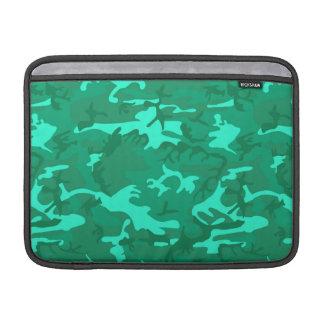 Capa Para MacBook Air Turquesa Camo