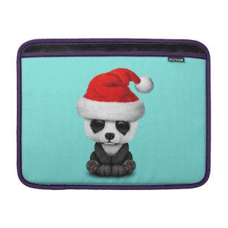 Capa Para MacBook Air Urso de panda do bebê que veste um chapéu do papai
