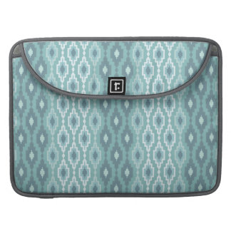 Capa Para MacBook Argyle azul & branco - luva de Macbook do rickshaw
