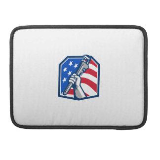 Capa Para MacBook Bandeira dos EUA da chave de tubulação da mão do