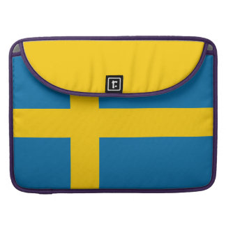 Capa Para MacBook Bandeira nacional da suecia