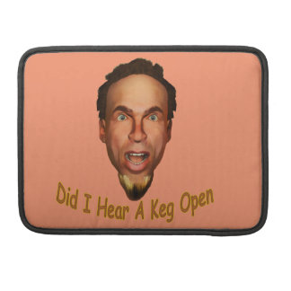 Capa Para MacBook Barril aberto