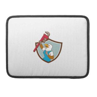 Capa Para MacBook Canalizador de Eagle que levanta acima desenhos