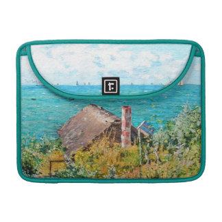 Capa Para MacBook Claude Monet a cabine em belas artes do