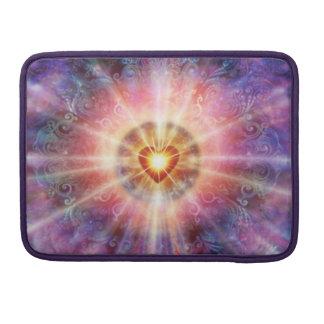 Capa Para MacBook Coração do ponto luminoso H034