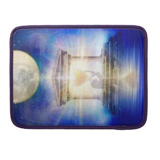 Capa Para MacBook Coração do templo da lua V058