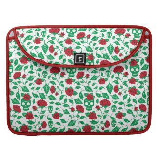 Capa Para MacBook Crânios & rosas de Frida Kahlo |