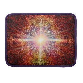 Capa Para MacBook Da mandala H069 laranja 2 profundamente