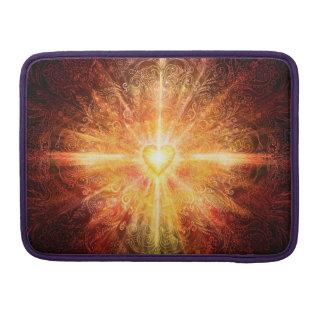 Capa Para MacBook Da mandala H070 laranja profundamente
