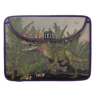 Capa Para MacBook Dinossauro do Cryolophosaurus - 3D rendem
