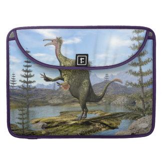 Capa Para MacBook Dinossauro do Deinocheirus - 3D rendem