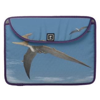 Capa Para MacBook Dinossauros de Pteranodon que voam - 3D rendem