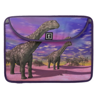 Capa Para MacBook Dinossauros do Argentinosaurus - 3D rendem