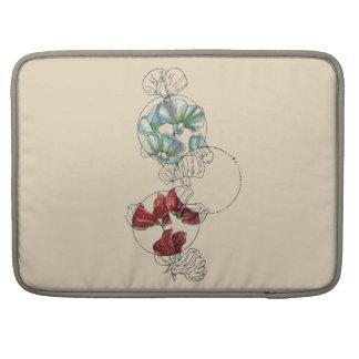 Capa Para MacBook ervilhas doces