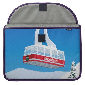 Capa Para MacBook Esqui do Snowbird