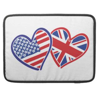 Capa Para MacBook EUA---Reino unido-Amor