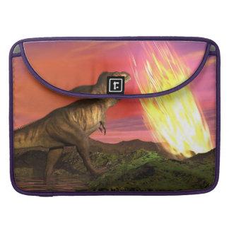 Capa Para MacBook Extinção dos dinossauros - 3D rendem