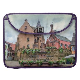 Capa Para MacBook Fonte de Santo-Leon em Eguisheim, Alsácia, France