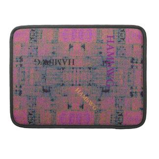 Capa Para MacBook HAMbWG - luva de Macbook do rickshaw - Viol