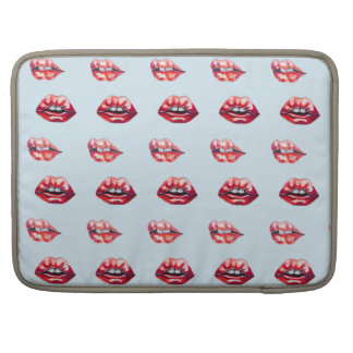 Capa Para MacBook lábios dos lábios