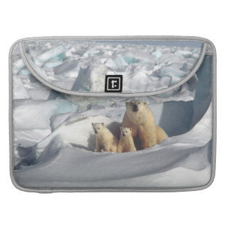 Capa Para MacBook Luva ártica de Macbook dos animais selvagens de