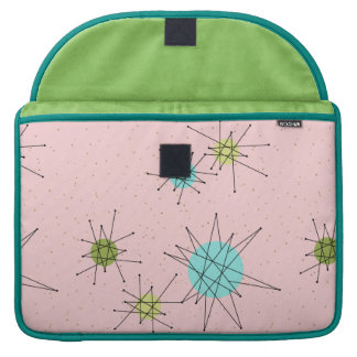 Capa Para MacBook Luva atômica icónica cor-de-rosa de Starbursts