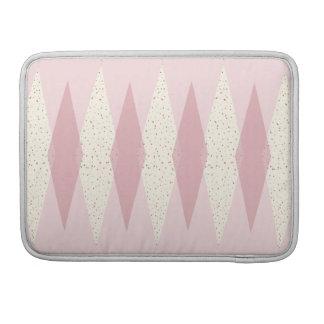 Capa Para MacBook Luva cor-de-rosa moderna de Argyle MacBook Pro do