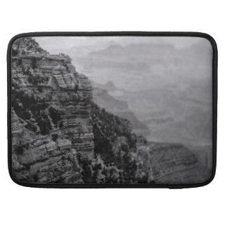 Capa Para MacBook Luva de Macbook do Grand Canyon preto e branco pro