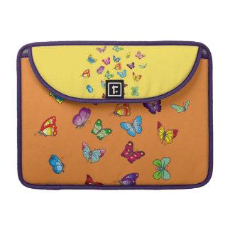 Capa Para MacBook luva de Macbook do neopreno da borboleta