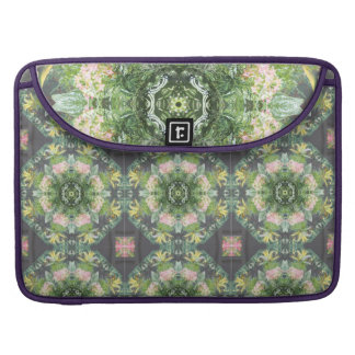 Capa Para MacBook Luva ida floral de Macbook do rickshaw selvagem