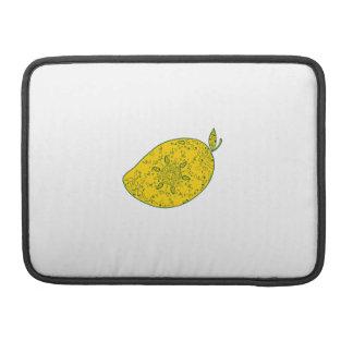Capa Para MacBook Mandala da fruta da manga