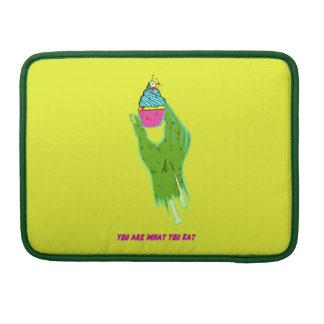 Capa Para MacBook Mão do zombi - você é o que você come